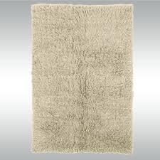 natural flokati wool area rugs
