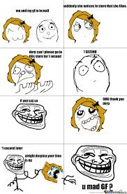 Mad Girlfriend Meme - u mad gf by lazy senior meme center