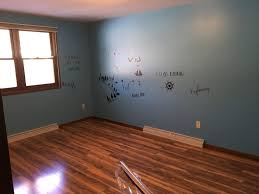 Paint Laminate Flooring Paint And New Flooring In The Bedrooms And They U0027re Pretty Much