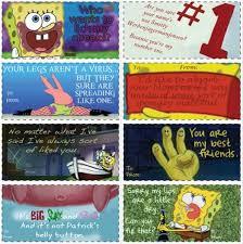 spongebob valentines day cards 10 best spongebob valentines images on spongebob