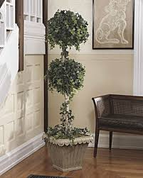 6 artificial topiary tree at petals