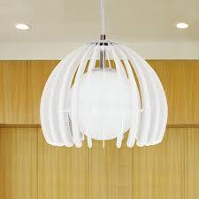 White Pendant Lights Modern Kitchen Pendant Lights White 11 8 Inch Diameter