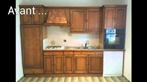 renovation cuisine rustique relooker cuisine rustique avant après galerie et renovation cuisine