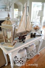 Beach Themed Living Room by Best 25 Sofa Table Styling Ideas On Pinterest Entry Table