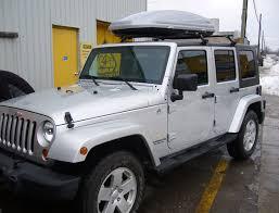 jeep wrangler cargo trailer jeep wrangler top rack installation photos