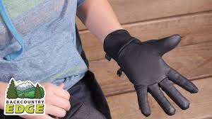 outdoor research women u0027s sensor gloves youtube