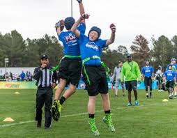 College Flag Football Seahawks Support Youth Flag Football At 2017 Pro Bowl Seattle