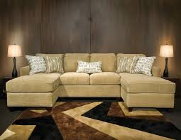 fabric sectional sofas with chaise amusing double chaise sectional sofa 22 on black fabric sectional