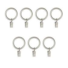 Large Drapery Rings Amazon Com Umbra Clip Curtain Rings U2013 Extra Large Curtain Rings