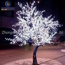 led outdoor waterproof led cherry blossom musical tree