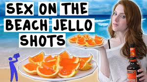 how to make on the beach jello shots tipsy bartender