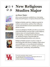 jobs for a history major religious studies university of houston