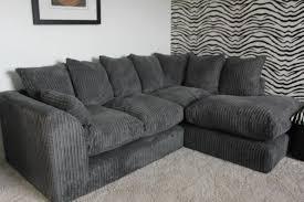 Scs Sofas Leather Sofa Scs Jumbo Cord Corner Sofa Grey Brand New 300 On Gumtree Brand