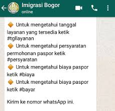 membuat prosedur paspor cara membuat paspor anak lewat antrian whatsapp ternyata mudah dan
