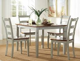 gray dining room table