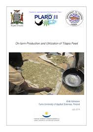 on farm production and utilization of tilapia feed pdf download