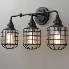 Bath Ceiling Light Fixtures Industrial Rustic Farmhouse Bath Lighting Shades Of Light
