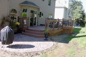 Small Backyard Deck Patio Ideas Deck And Patio Ideas For Small Backyards Gardensdecor Com