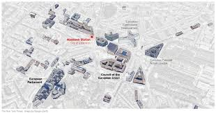 Brussels Germany Map Mapping The Belgium Terrorist Attacks The Full Recreation Of The