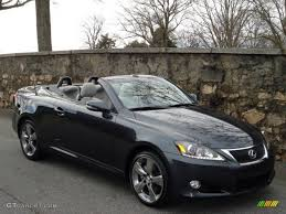 lexus convertible 2011 2011 smoky granite mica lexus is 250c convertible 58700777