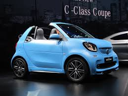 2017 smart fortwo cabrio soft top minicar returns to range next year