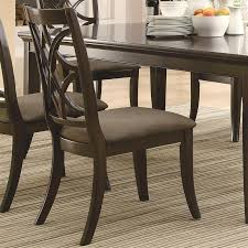 Coaster Dining Room Table Meredith 7 Pc Dining Table Set In Espresso Finish By Coaster 103531