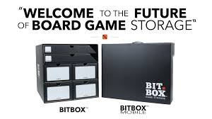 Board Game Storage Cabinet Bitbox Space Saving Easy Traveling Board Game Storage By Game