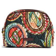 vera bradley home decor vera bradley medium zip cosmetic bag in heirloom paisley travel