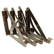 diy kulshan star balcony railing table bracket for deck bars