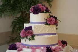 how much is a wedding cake how much purple ribbon will you need robert kaplinsky