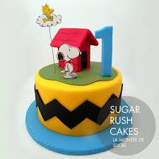 snoopy cakes celebration cakes sugar cakes montreal