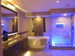 Led Lights In Bathroom Better Bathrooms With Rgb Led Lighting Visualchillout