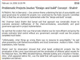 design and build contract jkr project report design build debacle