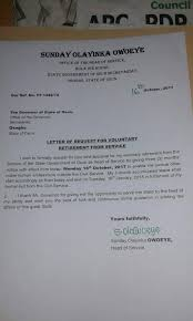photos osun head of service resignation letter u2013 citymirrornews