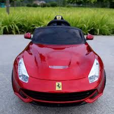 new car gift bow new electric car for kids remote sports cars baby