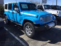 jeep icon concept chief blue chief edition wrangler spotted u2013 kevinspocket