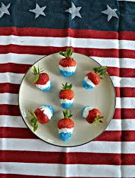White Chocolate Covered Strawberries Delivery Red White And Blue Chocolate Covered Strawberries July4recipes