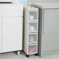pull out kitchen cabinet drawers sobuy 4 drawers kitchen cupboard bathroom cabinet slide out tower