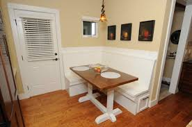 booth dining room set with decorating small spaces also small