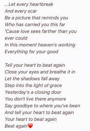 Light In Your Eyes Lyrics Tell Your Heart To Beat Again Danny Gokey Music U0026 Lyrics