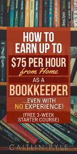 work from home as a bookkeeper business
