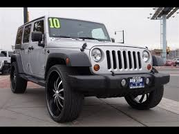 2010 jeep sport 2010 jeep wrangler sport unlimited 4x4 26 inch wheels