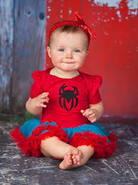 Spider Woman Halloween Costumes 2 Piece Spiderman Inspired Halloween Baby Tutu Costume Http