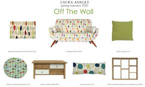 Laura Ashley Outdoor Furniture by Laura Ashley Interiors New Off The Wall Collection