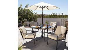 Asda Direct Armchairs Haversham Classic 6 Piece Patio Set Linen Home U0026 Garden