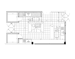 Autocad Kitchen Cabinet Blocks Industrial Kitchen Design 2d And 3d Cad Models Cadblocksfree