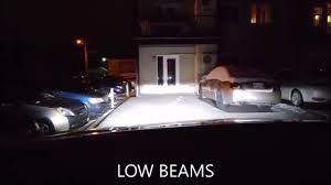 G7 Led Light Bulb by 72w Cree 12000 Lumens G8 Led Kit Night Driving Youtube