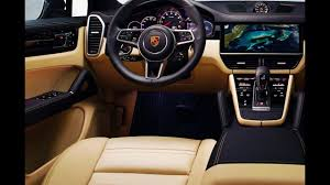old porsche interior 2019 2018 all new cayenne vs 2017 2016 old cayenne porsche test