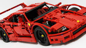 ferrari lego this lego ferrari f40 is the coolest