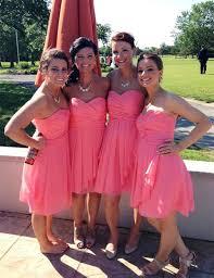 coral bridesmaid dresses 100 find a pink bridesmaid dresses 100 empire chiffon